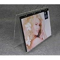 (5unit/lot )Modern Desk Top Acrylic Perspex Calendar Stand Display