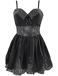 Hell Bunny Trägerkleid SUNDAY DRESS black
