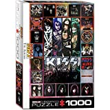 Eurographics 6000-5305 Kiss The Albums - Puzzle (1000 Piezas)