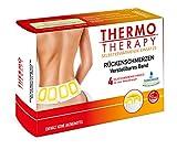 Thermo Therapy Umschlag für Rückenschmerzen, Starterset mit Gürtel + 4 Wärmekissen