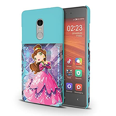 Koveru Designer Printed Protective Snap-On Durable Plastic Back Shell Case Cover for Xiaomi Redmi Note 4 -