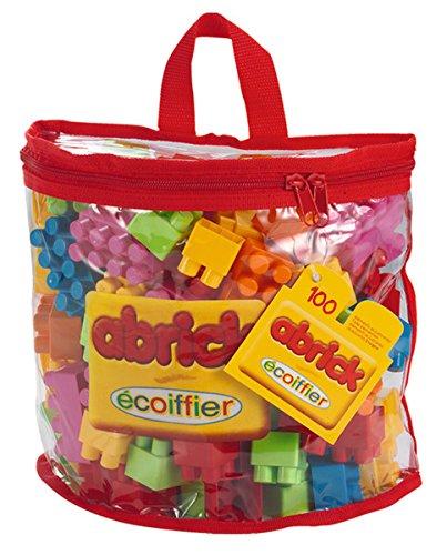 Ecoiffier - Bolsa 100 Bloques Construcción