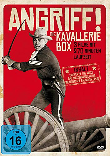 Angriff! Die Kavallerie Box (Custer Of The West - Das Maschinengewehr - Indianer auf falscher Spur)