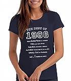 The of 1988 - Damen T-Shirt als Geschenk zum 30. Geburtstag: Ny, M