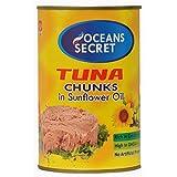 Oceans Secret Tuna Chunks in Veg Oil 425g (1)