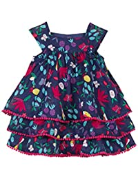 Catimini Baby Girls' Robe IMP Tropic Party Dress