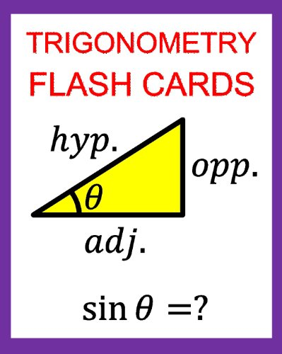 Tan-trainer (Trigonometry Flash Cards:  Memorize Values of Trig Functions (sin, cos, tan) from 0 to 360 Degrees (English Edition))