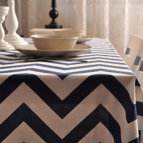 Nappe Moderne Maison Coton Et Lin Rond Nappes Nappes Rectangulaires De Table Basse (Taille: 140X220cm) XXPP