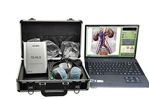 Bio-Resonanz Scan und Behandlung 7D-NLS Computer System Medicomat-36 Menschliches Körpertherapie Ernährung Suggestions Nachtrag Testing Non Linear Analysis Oberon Metatron Energiebehandlung