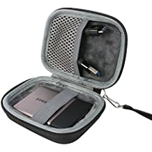 para Samsung T3 Disco SSD portatíl (USB 3.1, 3.0 y 2.0, velocidad hasta 450 MB/s) Portable External Solid State Drive 250GB 500GB 1TB 2TB Hard Shockproof Almacenamiento Viajar que Lleva Caja Bolsa Fundas por co2CREA