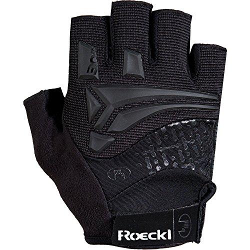 Roeckl Inobe Fahrrad Handschuhe kurz schwarz 2017: Größe: 7.5