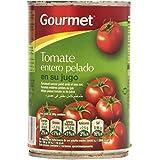Gourmet Tomate Entero Pelado en su Jugo - 240 g