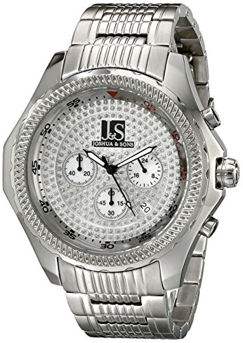Joshua & Sons Montre de quartz homme 41 mm