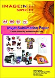 #4: High Quality Dye Sublimation Inkjet Paper 90 GSM A4/100 Sheets for Mug & T Shirt Pinting Paper