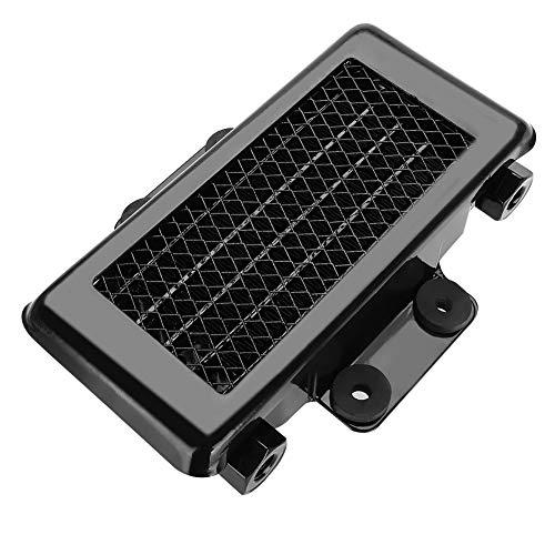 Radiatore olio universale, Alluminio 65ml Radiatore di raffreddamento radiatore olio motore per 100cc-250CC Moto Dirt Bike ATV(nero)