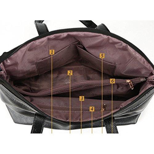Damen-Schultertasche Quaste Handtasche Diagonal-Paket Red