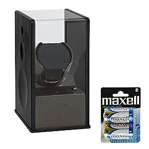 Beco Uhrenbeweger Satin Carbon Expert 1 inkl. 2 Maxell Batterien