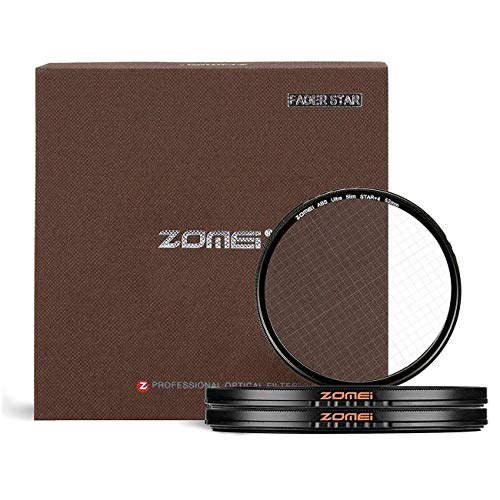 YINmiaomiao 3pcs/Lot ZOMEI + 4 Punkte Star Filter + 6 Punkte Star Filter + 8Points Star Filter für Canon Nikon Nikon Sony Olympus Other DSLR-Kamera,49mm