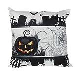 """Décoration de maison ,Horreur Tissu doux Motif thème de Halloween Housse de Coussin Rectangulaire par Reaso (45x45cm/18x18"""", 08)"""