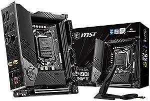 Msi Meg Z490i Unify Mini Itx Gaming Mainboard Computer Zubehör