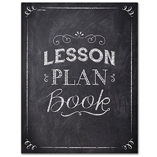 Creative Teaching Press Craie IT Up. Plan de cours livre, Noir/blanc (1350)