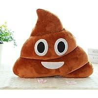 Koly Emoji Emoticon Cojín Poo en forma de almohada muñeca - Juguete Lanzar Almohada (A) - Comparador de precios