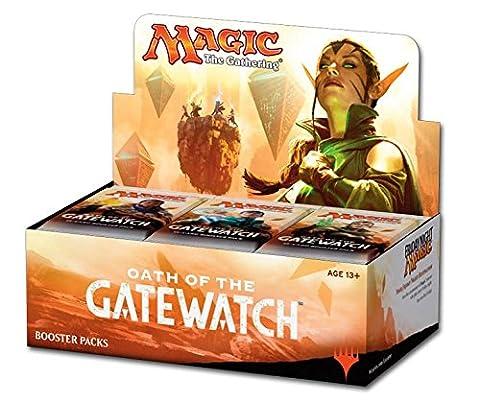 Magic the Gathering MTG ogw BD–de–Jeux de cartes, Aïd der Wächter Booster affichage Deutsch, 36PACK