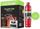 Toyotube Nachfüllpackung für Toyotomi für Öfen, 1,4 l, 6 Stück
