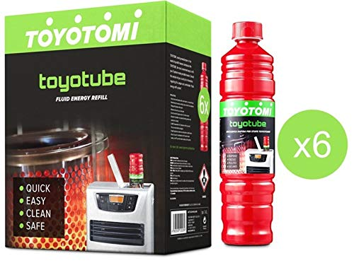 Toyotube-Carga Rápida estufas toyotomi-Pack