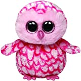 TY - Pinky, peluche búho, 15 cm, color rosa (36094TY)