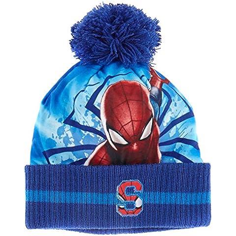 Spiderman Ragazzi Berretto di lana 2016 Collection - blu