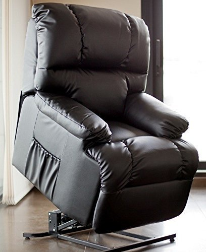 Sillon Relax y Masaje Irene Automático Sillón Elevador (Negro)