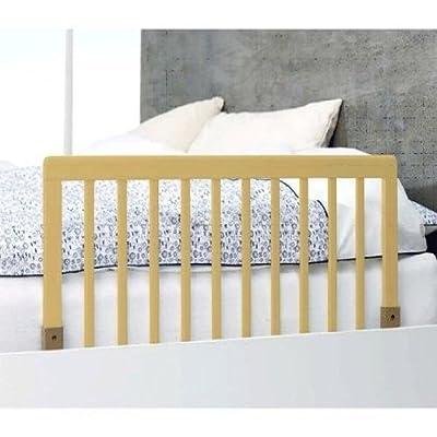 BabyDan - Protector de madera para la cama, color natural