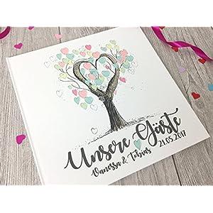 Gästebuch zur Hochzeit personali