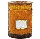 LA JOLIE MUSE Holz Docht Klauenhammer/Latthammer Sandelholz Duft Kerzen Soja Wachs Duftkerze, groß Glas 90Stunden, Geschenk Kerze für Mütter Tag
