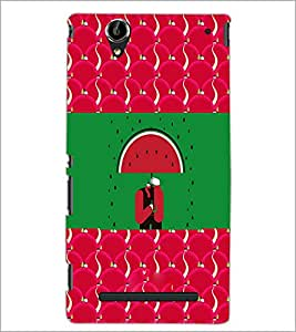 PrintDhaba Funny Image D-3770 Back Case Cover for SONY XPERIA T2 ULTRA (Multi-Coloured)