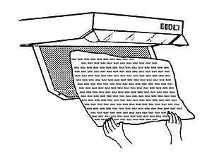 2 Stück universal Filter Nr.1006 für Dunstabzugshaube Fettfilter mit Sättigungsanzeige von Conny Clever®