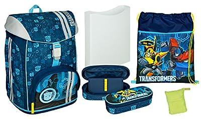 Schulrucksack Set FlexMax, Transformers, 5 teilig