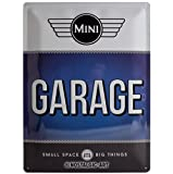 Nostalgic-Art 23213 Mini - Garage Blue, Blechschild 30x40 cm