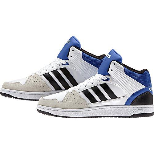 adidas - Hoops Jumpshot Mid, Scarpe sportive Uomo Bianco (Varios colores (Blanco (Ftwbla / Negbas / Azul)))