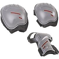 HUDORA Protektoren-Set Kinder, biomechanisch, Gr. S oder M (ca. 3 - 11 Jahre) - Schutzausrüstung Inliner Skater, Rollschuhe