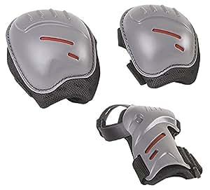 Hudora - 83161/01 - Set de protection Taille S - Noir/Gris