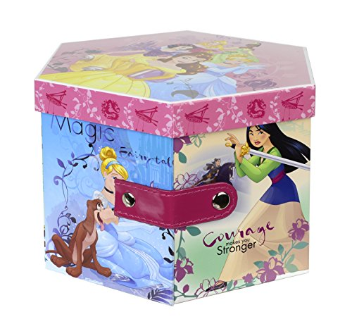 Disney Princesas Makeup fairytale tier case