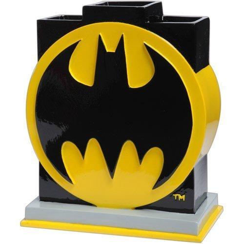 Vaso para cepillo de dientes con el Logo de Batman