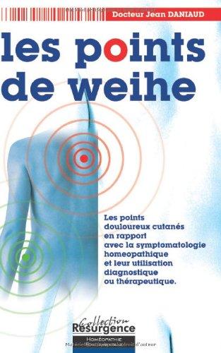 Points de Weihe - Corresp. Homéopathique