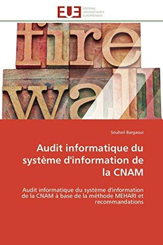 Audit informatique du système d'information de la cnam