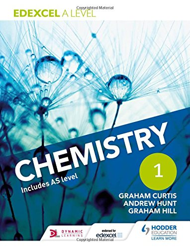 Edexcel A Level Chemistry Student Book 1 for sale  Delivered anywhere in UK