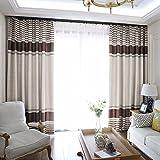 PEIWENIN Rideaux de Chambre à Coucher Moderne Salon Fini Rideaux Rideaux de fenêtre...