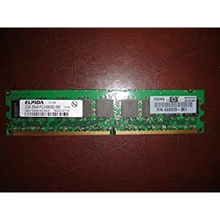 Elpida ebe21ee8acwa-8g-e 2GB Server DIMM DDR2PC6400(800) Unbuf ECC 1,8V 2Rx8240P 256MX72128Mx8CL