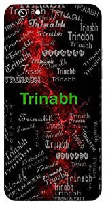 Trinabh (Lord Vishnu) Name & Sign Printed All over customize & Personalized!! Protective back cover for your Smart Phone : Sony Xperia M5